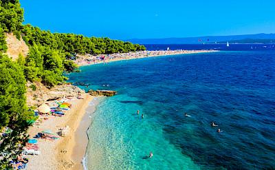 Bike and beach on Brac Island, Croatia. Flickr:Nick Savchenko