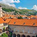 Courtyard in Dubrovnik, Dalmatia, Croatia. Photo via Flickr:Tambako The Jaguar