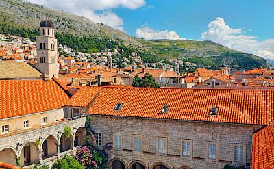 Courtyard in Dubrovnik, Dalmatia, Croatia. Flickr:Tambako The Jaguar