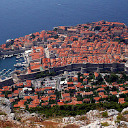 Harbor and town of Dubrovnik, Croatia. Flickr:Photographergien