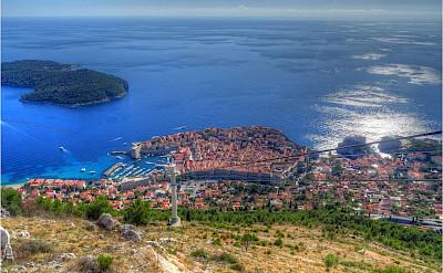Sweeping vista of Dubrovnik, Dalmatia, Croatia. Flickr:Dave Morton-PublicDomain