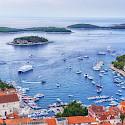 Ship in harbor at Hvar Island, Dalmatia, Croatia. Flickr:Arnie Papp