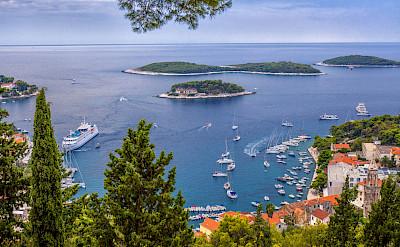 Harbor view on Hvar Island, Dalmatia, Croatia. Flickr:Arnie Papp