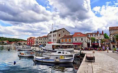 Old Town of Stari Grad, Hvar Island, Dalmatia, Croatia. Flickr:Jocelyn Erskine-Kellie