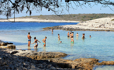 Sunbathing on Hvar Island, Dalmatia, Croatia. Flickr:Antonio Castagna