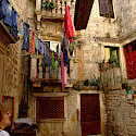 Daily life in Trogir, Dalmatia, Croatia. Photo via Flickr:gravitat-OFF