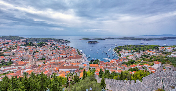 Gorgeous view of Hvar Island on the Dalmatian Coast, Croatia. Flickr:Arnie Papp