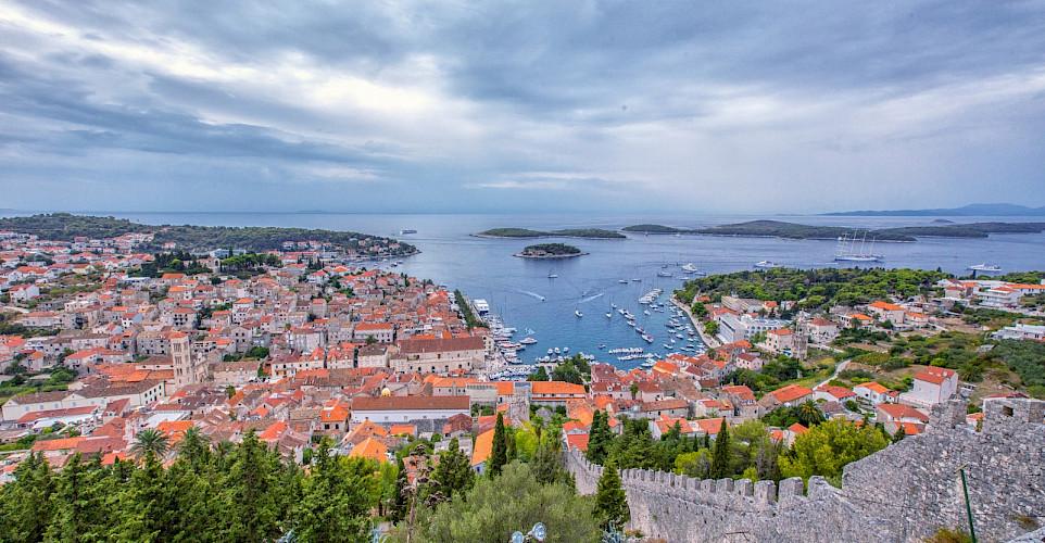 Gorgeous view of Hvar Island on the Dalmatian Coast, Croatia. Flickr:Arnie Papp