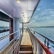 Deck aboard the New Star