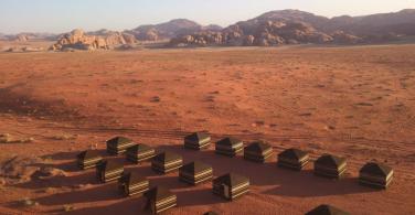 Bedouin Campsite in Jordan
