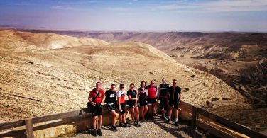 Biking the scenic route in Jordan!