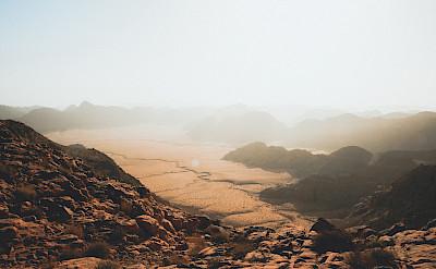 Highest peak in all of Jordan is Jabal Umm al Dami at 1854 meters.