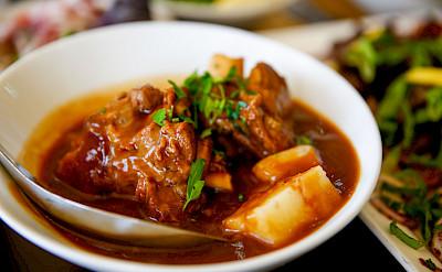 Lamb Stew in Jordan.