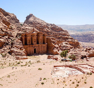 The Monastery, City of Petra, Jordan.