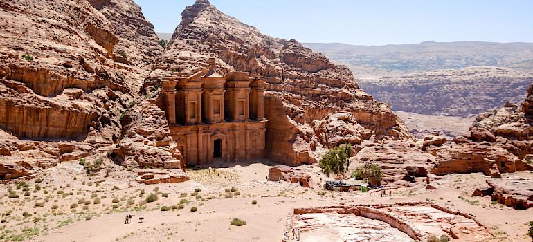 The Monastery, City of Petra, Jordan.