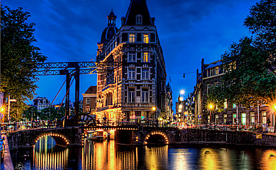 Amsterdam dazzles in North Holland, the Netherlands. Flickr:Elyktra