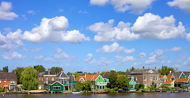 Biking outside Amsterdam, North Holland, the Netherlands. Photo via Flickr:Francesca Cappa