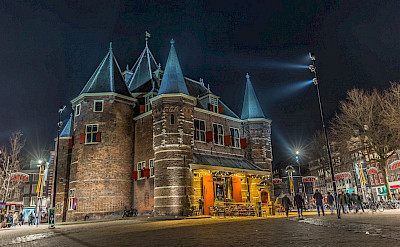 <i>Waag Huis</i> in Amsterdam, North Holland, the Netherlands. Flickr:not4rthur