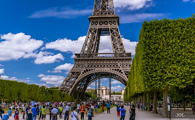 Eiffel Tower in Paris, France. Flickr:Tommie Hansen