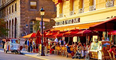 Bike rest in Paris, France. Photo via Flickr:Moyan Brenn
