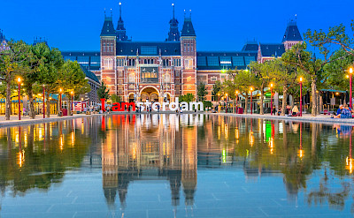 The famous Rijksmuseum in Amsterdam, North Holland, the Netherlands. Creative Commons:Nikolai Karaneschev