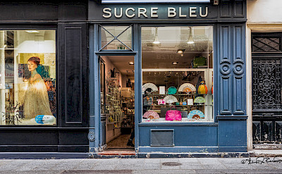 Sucre Bleu in Paris, France. Flickr:Steven dosRemedios