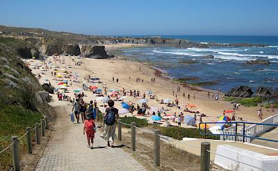 Bike to beach in Almograve, Portugal. Photo via Flickr:Hugo Cadavez