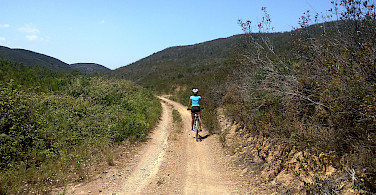 Scenic biking along the Vicentine Coast & Algarve Bike Tour in Portugal.