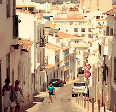 White village of Lagos, Portugal. Photo via Flickr:faifu
