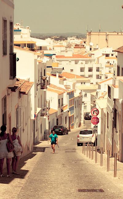 White village of Lagos, Portugal. Photo via Flickr:faifu