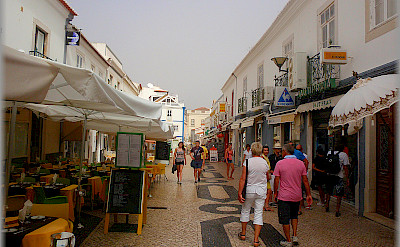Shopping in Lagos, Portugal. Photo via Flickr:Jose A.