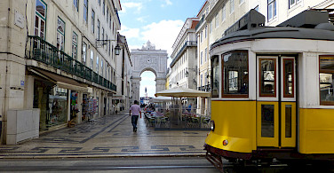 City life in Lisbon, Portugal. Photo via Flickr:matthias hill