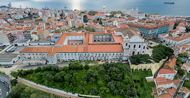 Overlooking Lisbon, Portugal. Photo via Flickr:Marco Verch
