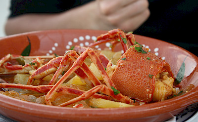 Seafood in Sagres, Portugal. Photo via Flickr:Thomas Guillem