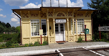 Old Railway Station turned Open Air Museum, Pilica, Poland. Photo via Tour Operator