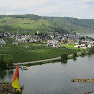 The banks of the Moselle