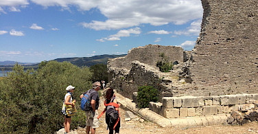 Ruins of ancient Roman city Cosa in Ansedonia, Grosseto, southern Tuscany, Italy. Photo via TO