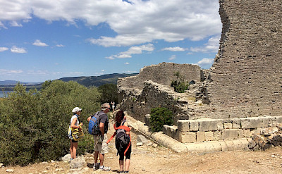 Ruins of ancient Roman city Cosa in Ansedonia, Grosseto, southern Tuscany, Italy. Photo via TO