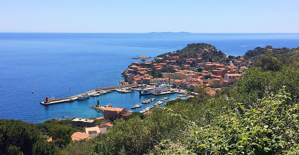 Port Giglio Island on the Tuscan Coast, Italy. Photo via TO