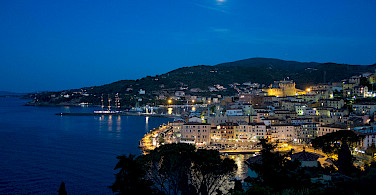 Porto Santo Stefano at night. Photo via Flickr:Theo K
