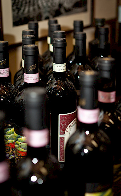 So much wine in Italy! Photo via Flickr:Jimmy G