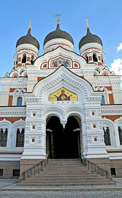 Alexander Nevsky Cathedral in Tallinn, Estonia. CC:Dennis Jarvis