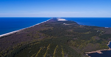 Curonian Spit in Lithuania. Photo via Wikimedia Commons:A.Savin
