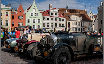 Car show in Tallinn, Estonia. Flickr:W. Seiler