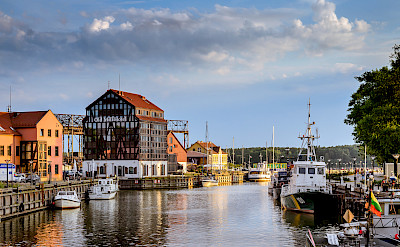 Port City of Klaipeda, Lithuania. Flickr:Mantas Volungevicius