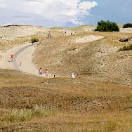 Sand dunes near Nida, Lithuania. Photo via Wikimedia Commons:Raido