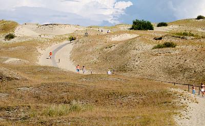 Sand dunes near Nida, Lithuania. CC:Raido