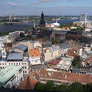 Great view of Riga, Latvia. Photo via Flickr:Bryan Ledgard