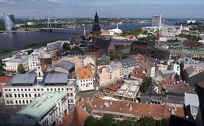 Great view of Riga, Latvia. Flickr:Bryan Ledgard