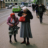Street life in Riga, Latvia. Photo via Flickr:Vadim Timoshkin
